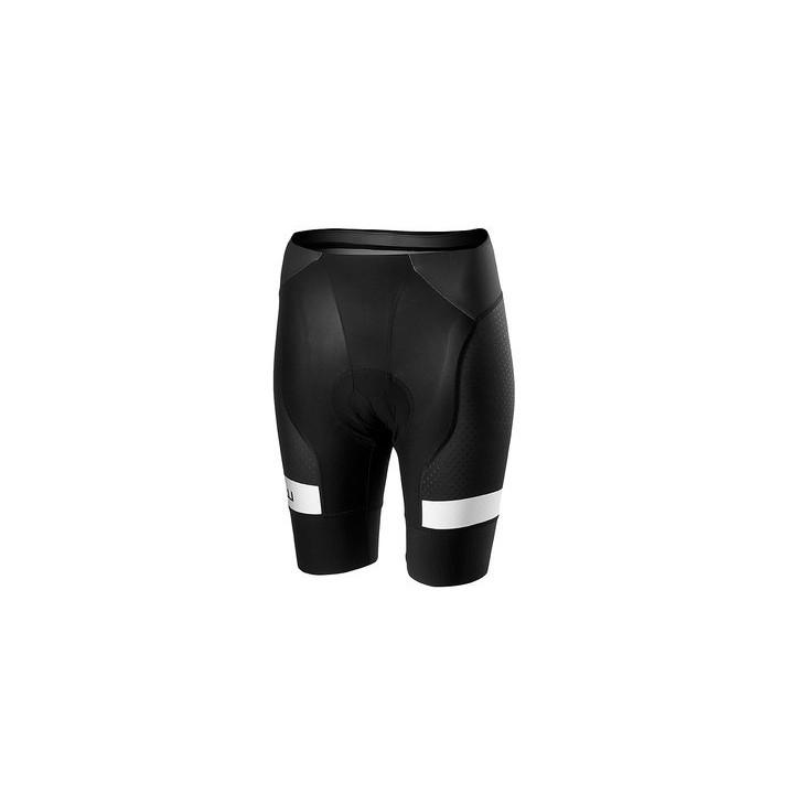 Pantaloncino Castelli  Woman Free Aerorace 4W Short Team Black/White