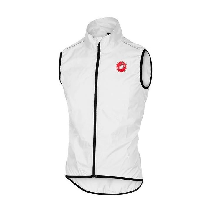 Gilet Antivento Castelli Squadra Vest White