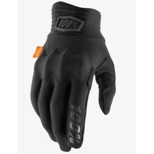 Guanti 100% COGNITO D30 Black/Charcoal