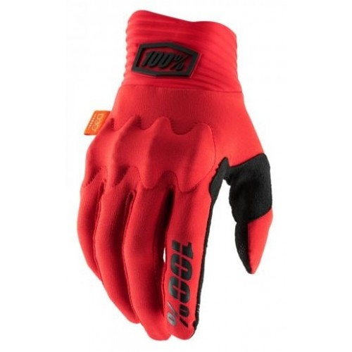 Guanti 100% COGNITO D30 Red/Black