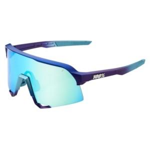 Occhiale 100% S3 Matte Metallic Into the Fade-Blue Topaz