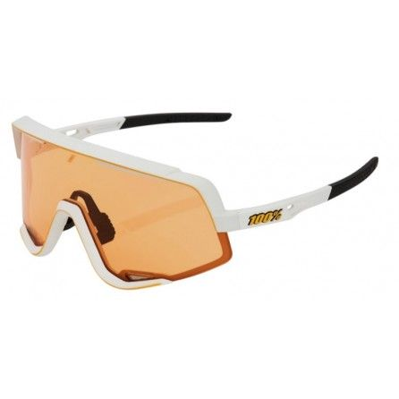 Occhiale 100% GLENDALE Soft Tact Off White - Persimmon Lens