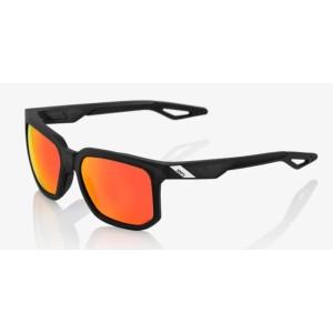 Occhiale 100% CENTRIC Matte Black - Smoke Lens