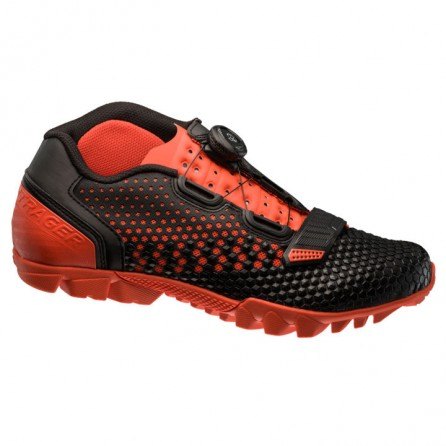 Scarpe Bontrager Rhythm BOA Black-Red