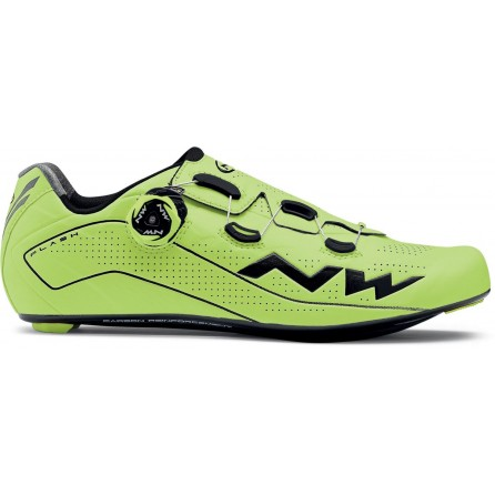 Scarpe NorthWave Flash Yellow Fluo-Black