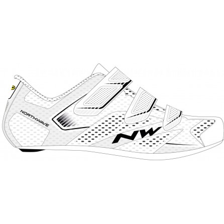 Scarpe Northwave Sonic 2 White-Black