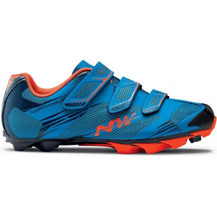 Scarpe NorthWave Scorpius 2 Blue-Lobst.Orange