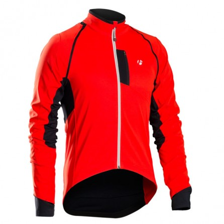 Giacca Bontrager RXL 180 Softshell Convertible Tg.L Bonty Red