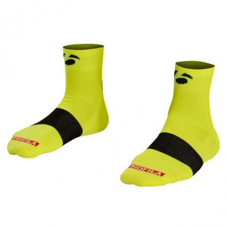 Calze Bontrager Race 2.5 Tg.S 36-39 Visibility Yellow