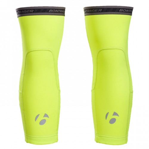 Ginocchiere Bontrager Thermal Tg.L Visibility Yellow