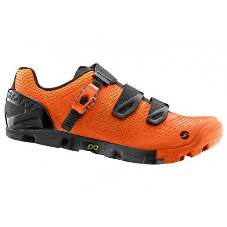 Scarpe Mtb Giant Flow Competiotion Tg.44 Orange-Black