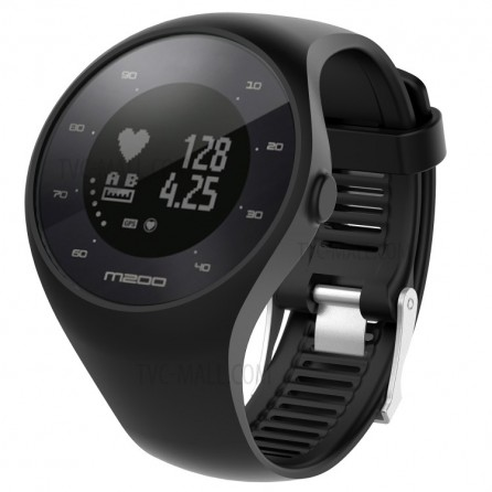 Orologio Gps Polar M200 Cardio Activity Tracking Tg.M/L Black