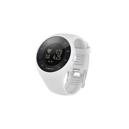 Orologio Gps Polar M200 Cardio Activity Tracking Tg.M/L White