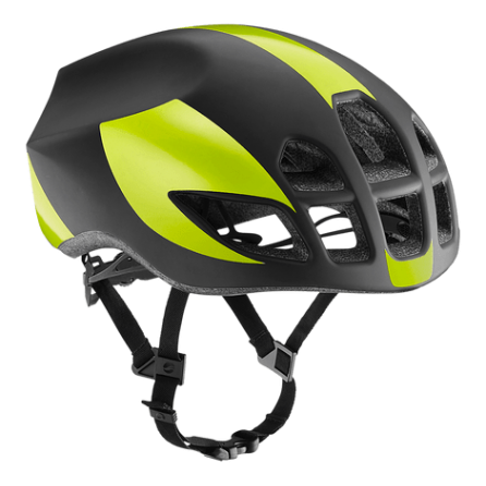 Casco Giant Pursuit Tg.M Black-Lime