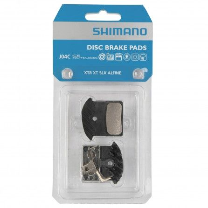 Pastiglie Freno Shimano Metal J04C XTR-XT-SLX-Alfine Con Dissipatore