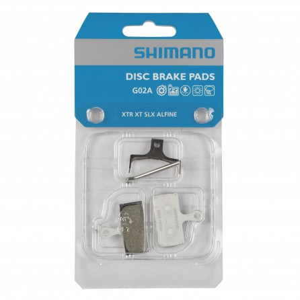 Pastiglie Freno Resina Shimano G02A XTR-XT-SLX-Alfine