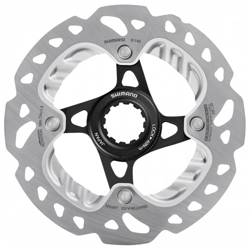 Disco Shimano XTR 140mm Center Lock SM-RT99-A Ice-Tech con Dissipatore