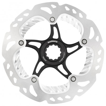 Disco Shimano XTR/Saint SM-RT99 Ice-Tech 160mm Center Lock con Dissipatore