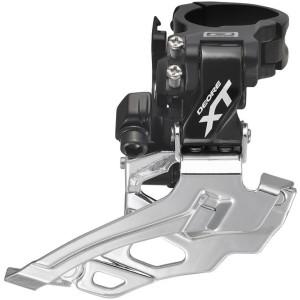 Deragliatore Doppia Shimano XT 2x10v FD-M786 Down Swing Black