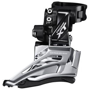 Deragliatore Doppia Shimano XT FD-M8025 a Fascetta 34.9mm DS DP 66-69