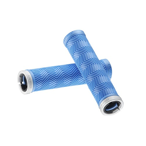 Manopole Giant Sole-O Mtb Grips Bright Blue Single Lock-On