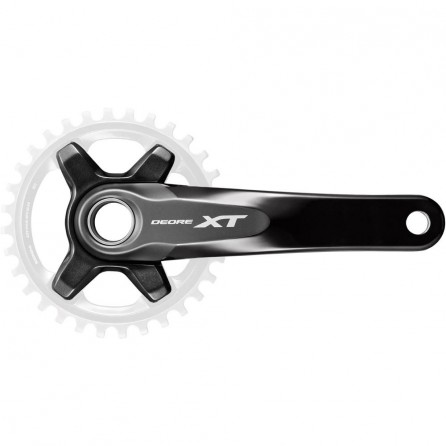 Guarnitura Shimano XT 11v Senza Corona FC-M8000-B1 175mm