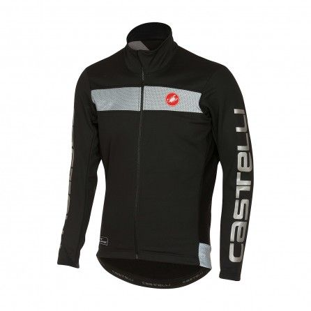 Giubbino Castelli Raddoppia Jacket Black Men's