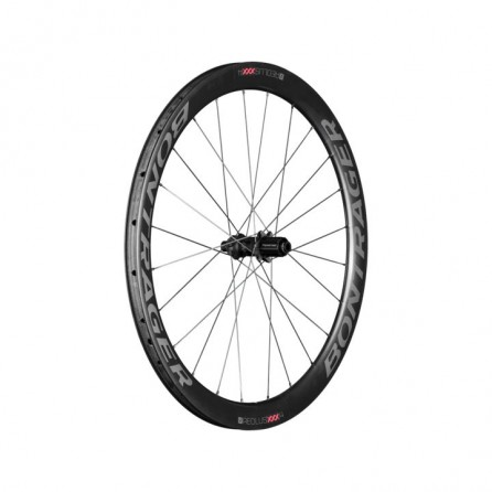 Ruota Posteriore Bontrager Aeolus XXX 4 TLR Disc Shimano 11 Black-Red