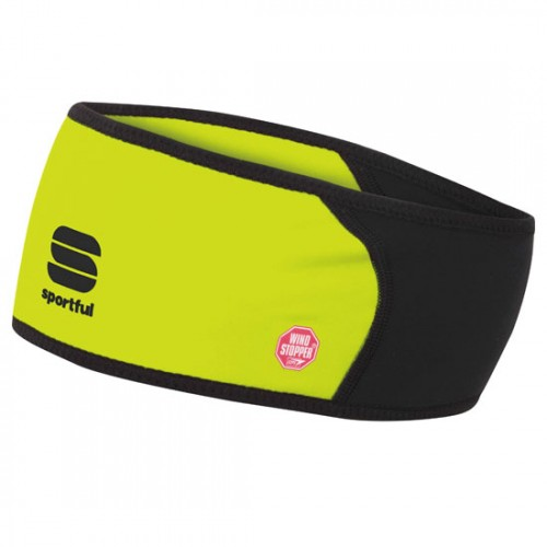 Fascia Sportful Windstopper Tg. Unica Gialla