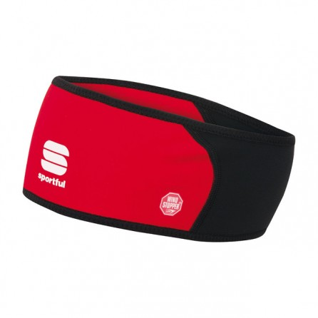 Fascia Sportful Windstopper Tg. Unica Rossa