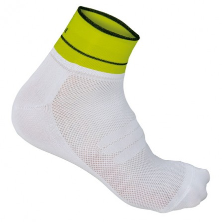 SPORTFUL CALZINO GIRO 5 SUMMER WHT/YELLOW F. TG.36/39