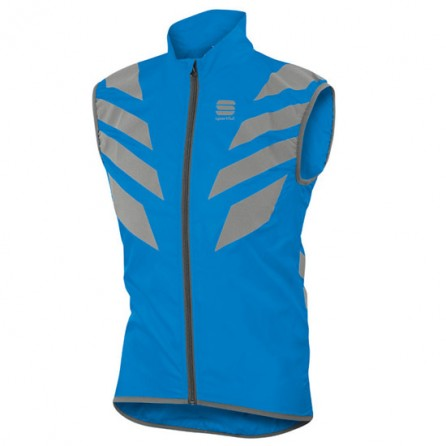 SPORTFUL SMANICATO ANTIVENTO REFLEX VEST ELECTRIC BLUE TG. S
