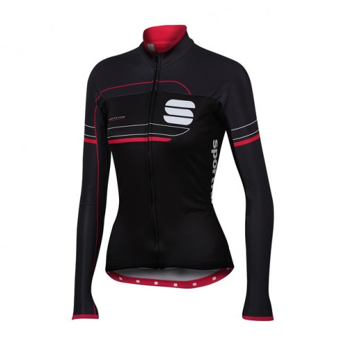 SPORTFUL GRUPPETTO PRO W JACKET WINTER WOMEN BLK/ANTHRA/CERRY TG. M