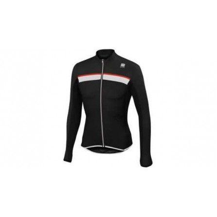 SPORTFUL PISTA LONG SLEEVE J. MAGLIA CICLO SUMMER TG.L BLK/WHT/RED