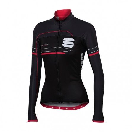 SPORTFUL GRUPPETTO PRO W JACKET WINTER WOMEN BLK/CERRY TG. L