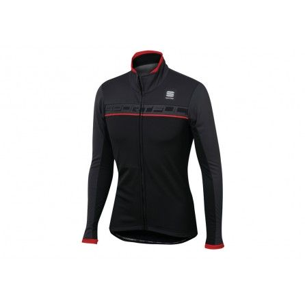 SPORTFUL GIRO SOFTSHELL JACKET WINTER BLK/ANTHRA/RED MAN TG.XL