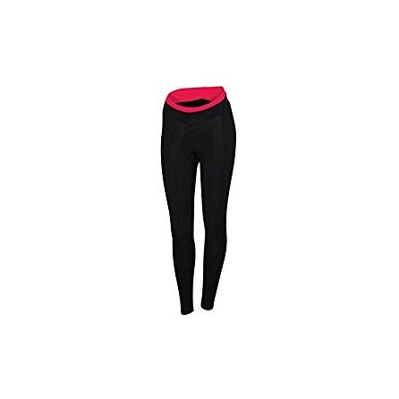 SPORTFUL PANTA LUNGO LUNA THERMAL TIGHT WINT WOMEN BLK/CORAL TG. S