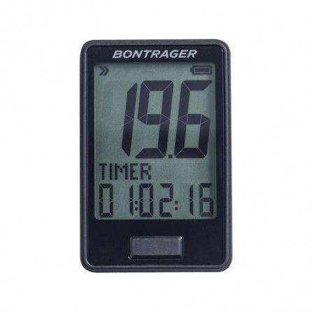 Ciclocomputer Bontrager RIDE time Black