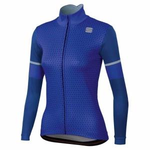 Maglia M/L Sportful Cometa Thermal Jersey 2019 Blu