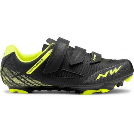 Scarpe Mountain Northwave Origin Tg.41 Yellow Fluo-Black