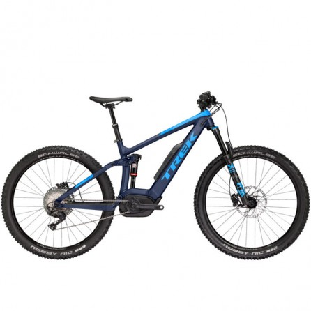 Bicicletta Trek Powerfly FS 8 LT 2018 Tg.17.5 Blue