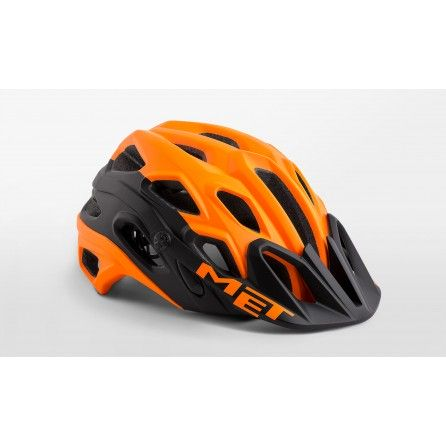 Casco Met Lupo 2019 Orange Black