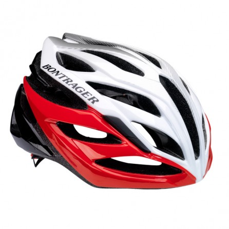 Casco Bontrager Quantum Red-Black-White Tg.S