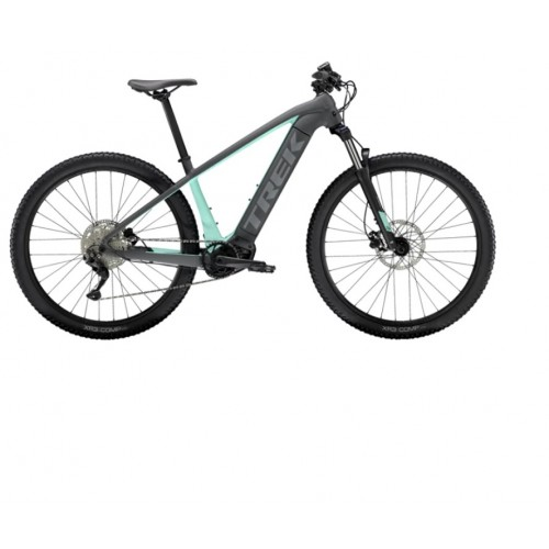 Bicicletta Trek Powerfly 4- Matte Solid Charcoal/Matte Miami - 2021
