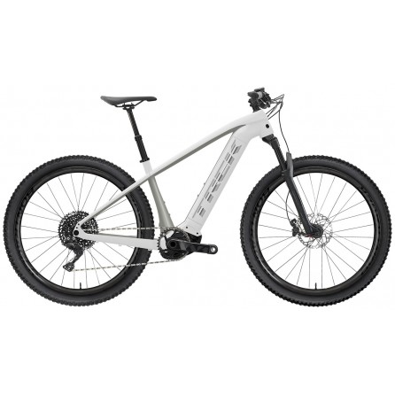 Bicicletta Trek Powerfly 5 2021 - Crystal White/Metallic Gunmetal
