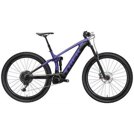 Bicicletta Trek Rail 5 625w - Purple Flip/Trek Black