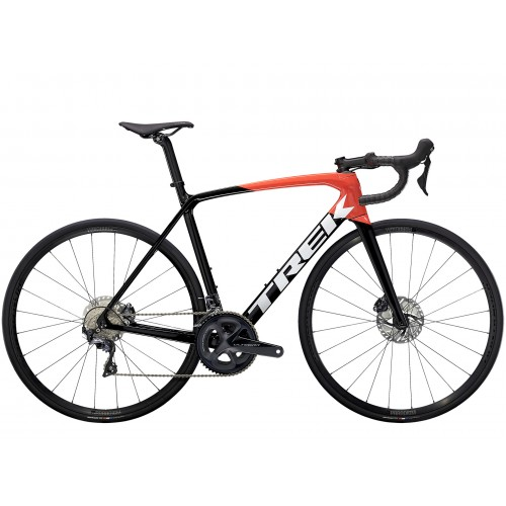 Bicicletta Trek Emonda SL 6 2021 - Trek Black/Radioactive Red