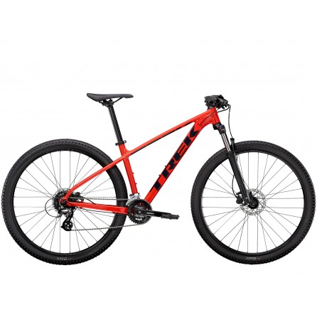 Bicicletta Trek Marlin 6 2021 - Radioactive Red/Trek Black