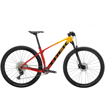 Bicicletta Trek Procaliber 9.5 2021 - Marigold to Radioactive Red Fade