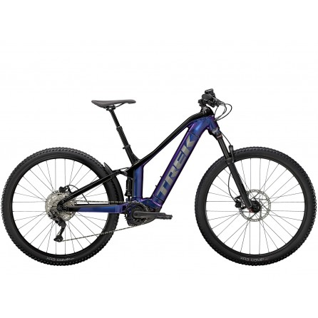 Bicicletta Trek Powerfly FS 4 500w - Purple Flip/Trek Black